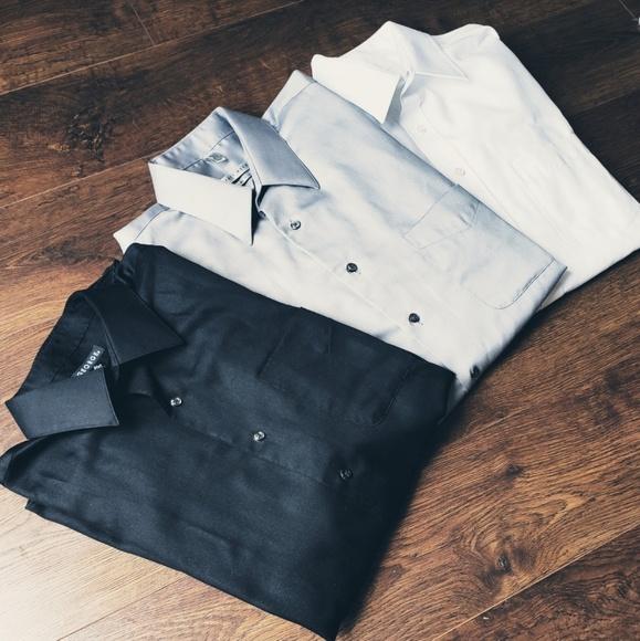 Geoffrey Beene Other - 3 X Button up shirts